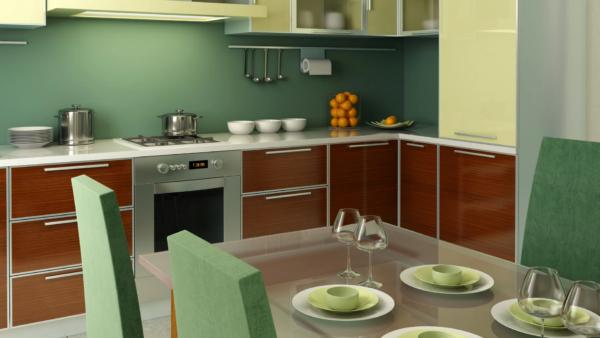 Orientações para uma cozinha mais colorida